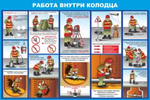 Плакаты по охране труда и ТБ